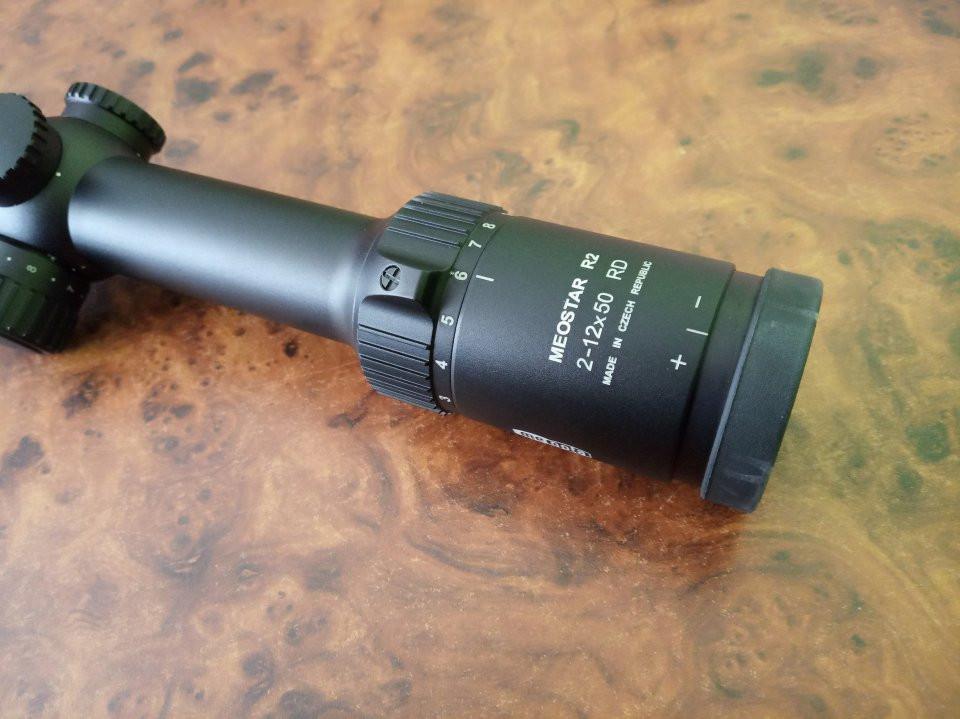 Puškohľad Meopta MeoStar R2 2-12x50 RD 4C/4K