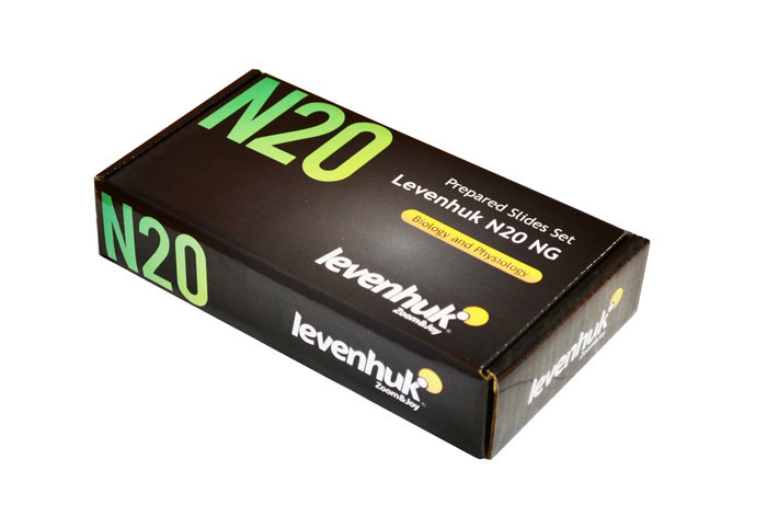 Mikroskopická sada preparátov Levenhuk N20 NG