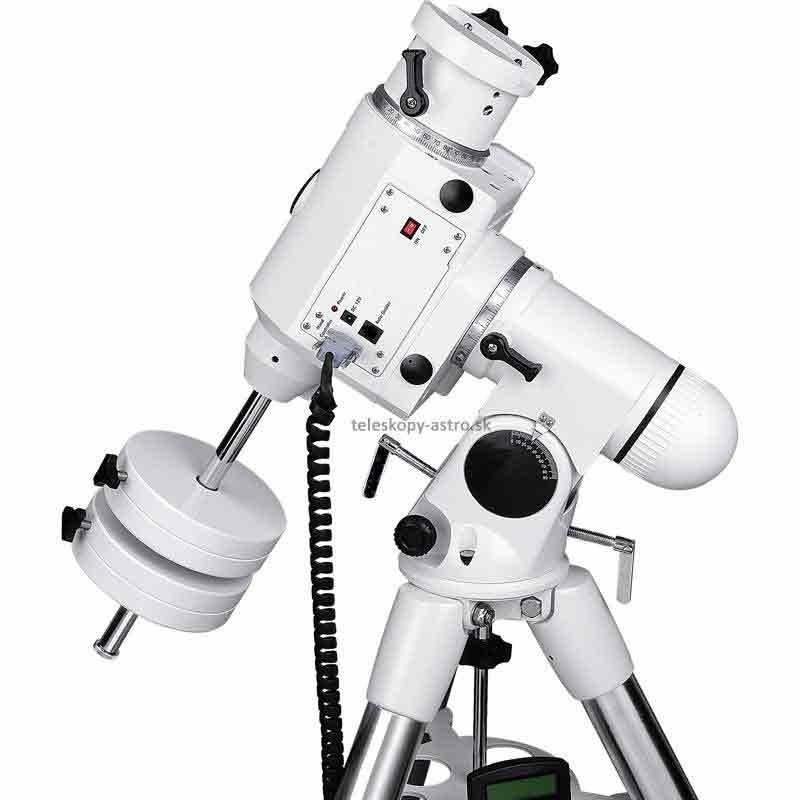 Montáž Sky-Watcher EQ6 SynScan GoTo s oceľovým statívom
