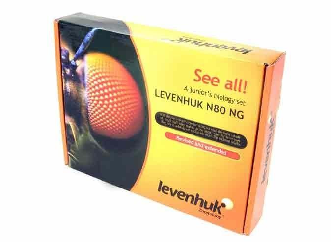 Mikroskopická sada preparátov Levenhuk N80 NG