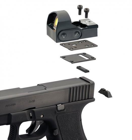 Adaptér pre MiniDot (Glock 9 mm)