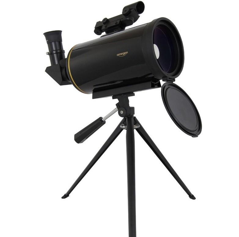 Teleskop Omegon Maksutov 90 AZ s LED hľadáčikom